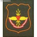 Нарукавный знак военнослужащих 1 узла связи Рубин