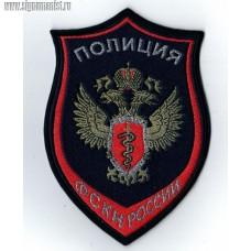 Шеврон полиция ФСКН России для кителя