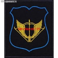 Шеврон ССО для офисной формы синего цвета