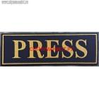 Нашивка на спину PRESS