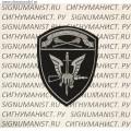 Шеврон подразделения СН Центральный округ ВНГ для камуфляжа или черной формы
