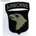 Нашивка Airborne