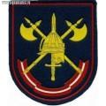Шеврон 1-й Отдельной стрелковой бригады охраны МО РФ парадный