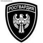 Нашивка Росгвардия войска центрального регионального командования