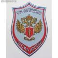 Шеврон полиция ФСКН России для рубашки голубого цвета