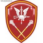 Нарукавный знак управления сил специального назначения Центрального округа ВНГ РФ